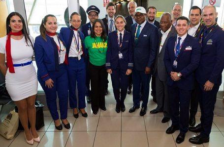 Latam inauguró vuelo directo entre Lima y Montego Bay en Jamaica
