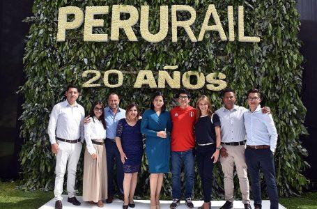 Celebraciones por el 20 aniversario de PeruRail culminaron en Cusco