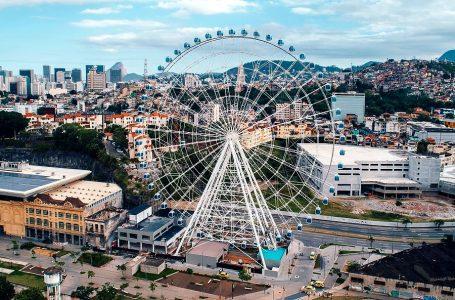Rio de Janeiro estrena la rueda de vista panorámica más alta de Latinoamérica