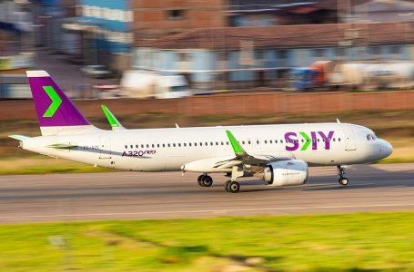 Sky Airline volará a Juliaca y Puerto Maldonado desde febrero de 2020