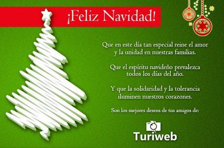 ¡Feliz Navidad te desea Turiweb!