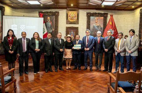 """Unesco otorga a Arequipa el título de """"Ciudad Creativa en Gastronomía"""""""