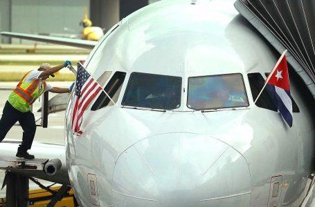 EEUU limita a nueve vuelos diarios los viajes chárter a Cuba