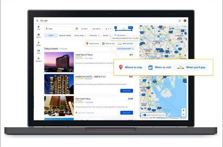 Google agrega nuevas funciones y tarifas hoteleras en su buscador de viajes