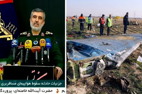 Irán admite haber derribado «por error» avión ucraniano con 176 pasajeros