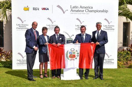 Lima será sede del más prestigioso torneo de golf amateur de América Latina