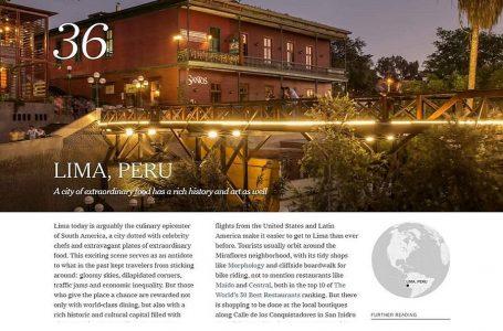 The New York Times recomienda a turistas de EEUU visitar Lima este año