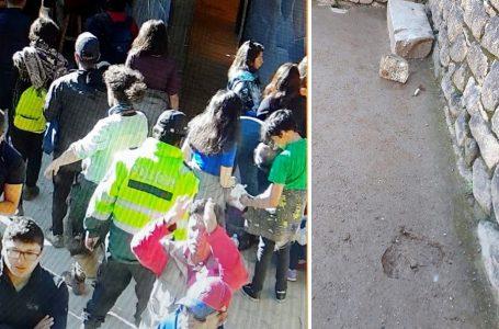 Detienen a seis turistas extranjeros por causar daños en Machu Picchu