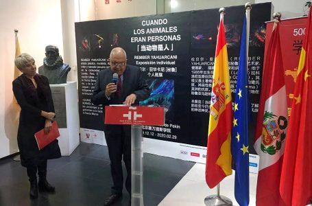 China: inauguran exposiciones colectivas de arte peruano en Pekín