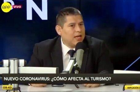 """Fernando Puente: el """"tsunami"""" coronavirus impacta contra el turismo en Perú"""
