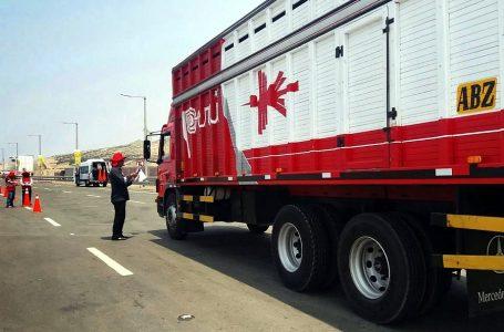 Sutran: transportistas de carga y mercancías están prohibidos de trasladar a personas