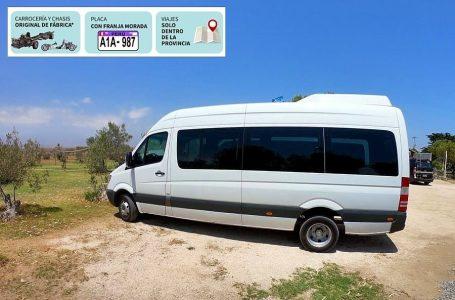 Empresas de transporte turístico fueron autorizadas para realizar transporte de personal