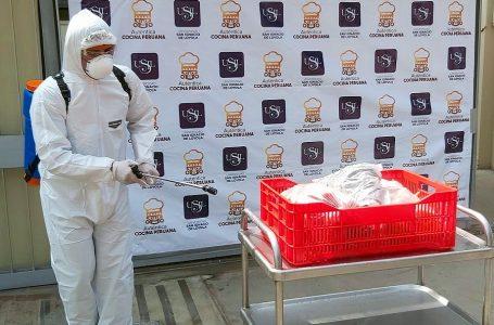 USIL pone en práctica protocolos de bioseguridad para delivery de restaurantes