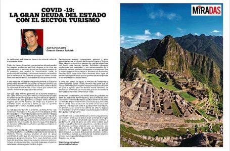 Covid-19: la gran deuda del Estado con el sector turismo [EDITORIAL]