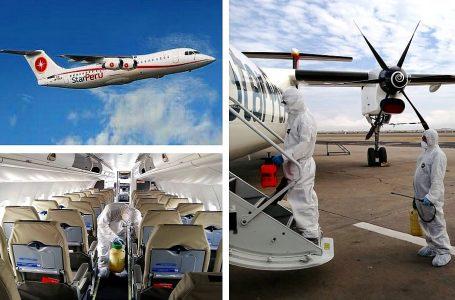 Star Perú presenta protocolo de seguridad para reinicio de vuelos el 13 de julio
