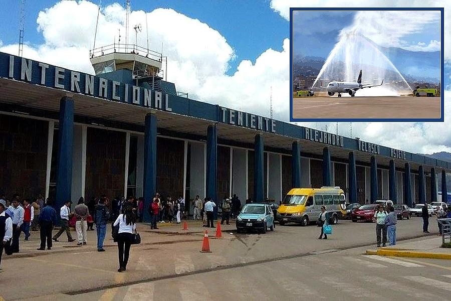 Aeropuerto De Cusco Cumplio Con Distanciamiento Social A Diferencia Del Jorge Chavez Turiweb
