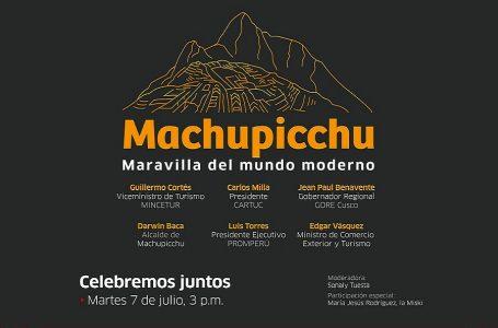 Machu Picchu celebra hoy su 13° aniversario como maravilla del mundo moderno