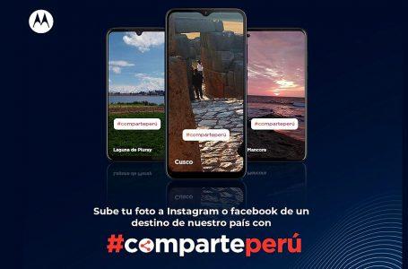 Motorola lanza campaña digital #CompartePerú para apoyar reactivación del turismo
