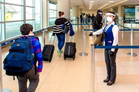 MTC: uso de protector facial y mascarilla será obligatorio para viajar por avión