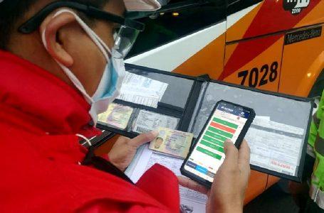Fiscamóvil: conoce la app de Sutran para fiscalizar el transporte interprovincial