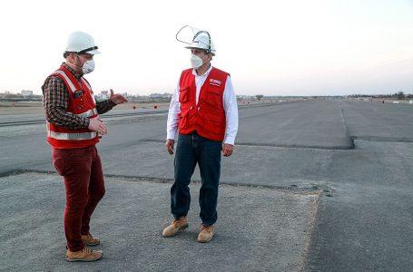 Supervisan reinicio de obras de mejoramiento en aeropuerto de Chiclayo
