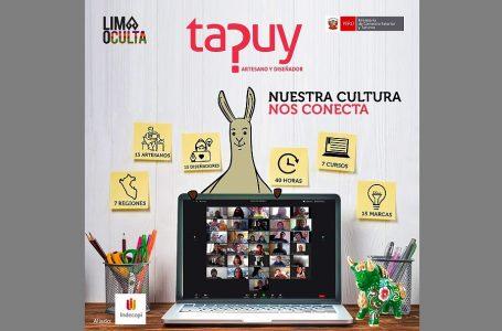Indecopi asesoró a artesanos sobre registro de marcas en programa Tapuy 2020