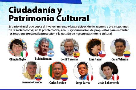 """Organizan segundo encuentro virtual internacional """"Ciudadanía y Patrimonio Cultural"""""""