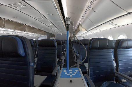 United suma spray antimicrobiano a su extensa lista de medidas de limpieza en cabina
