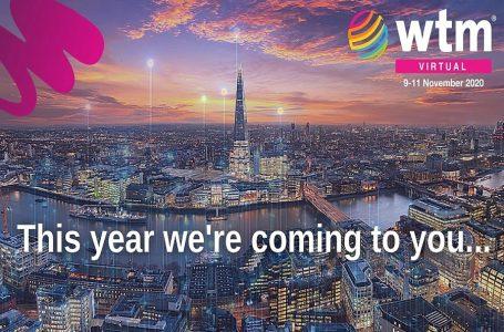 WTM London y Travel Forward serán ferias exclusivamente virtuales en noviembre de 2020