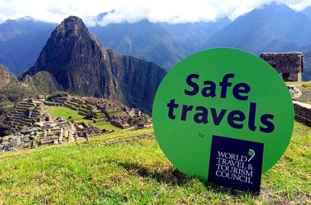 Perú obtiene el sello 'Safe Travels' del WTTC y regiones podrán solicitar su uso