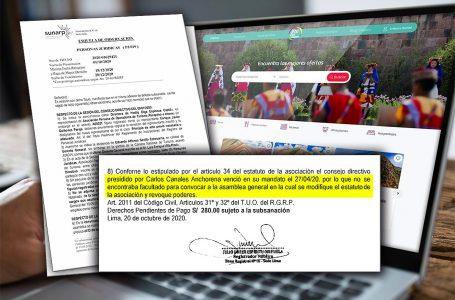 Observaciones de Sunarp podrían invalidar convenio entre Canatur y PromPerú por Marketplace
