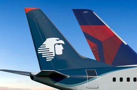Delta y Aeroméxico planean más de 4,300 vuelos en diciembre entre México y EEUU