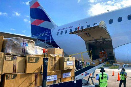 Avión Solidario de Latam transportó ayuda humanitaria a San Andrés por huracán IOTA