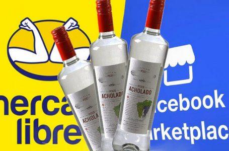 Indecopi detecta venta de pisco ilegal en Mercado Libre y Marketplace de Facebook