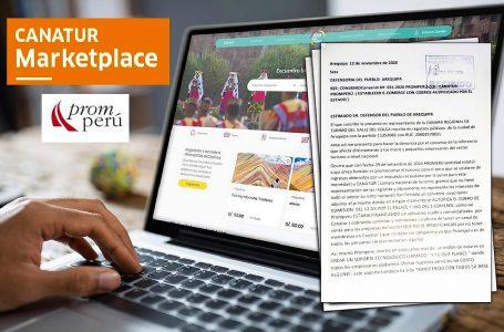 Gremio de Arequipa presenta nueva denuncia contra el Marketplace de Canatur y PromPerú