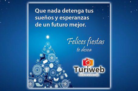 Felices Fiestas te desea Turiweb – Noticias de Turismo y Viajes