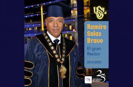 Ramiro Salas deja el rectorado de USIL y asume como Gran Canciller del grupo educativo