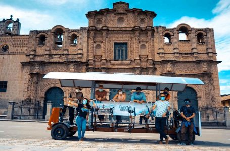 Pedal Tour: conoce el innovador vagón que recorre las rutas turísticas de Cajamarca