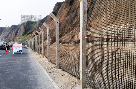 Culminan instalación del cerco perimetral en circuito de la Costa Verde