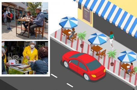 Restaurantes podrán usar espacios públicos cumpliendo estos requisitos