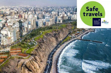 """Miraflores: 31 prestadores de servicios turísticos reciben sello """"Safe Travels"""""""