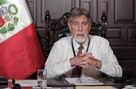 Presidente Sagasti anuncia cuarentena para Lima y otras nueve regiones