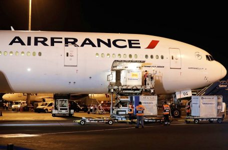 Avión de Air France trajo al Perú primer lote de vacunas Covid-19 procedente de China [FOTOS]