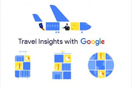 Google lanza plataforma Travel Insights para apoyar la recuperación del turismo
