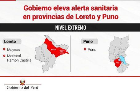 """Iquitos y Puno entran a cuarentena total por alerta """"extrema"""" de Covid-19"""