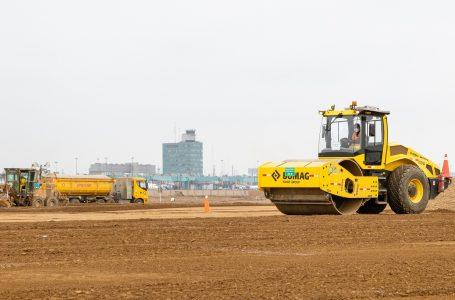 Continúan los trabajos del nuevo campo de vuelo del aeropuerto Jorge Chávez