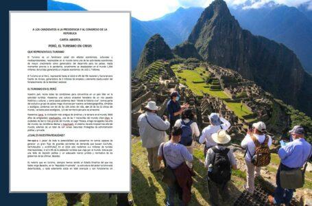 Turismo en crisis: Carta abierta a los candidatos a la Presidencia y al Congreso