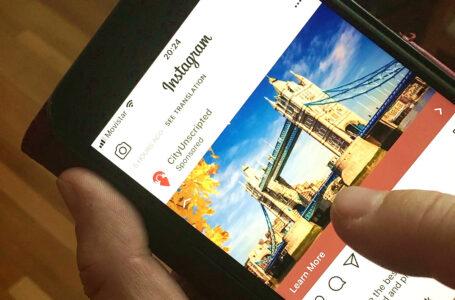 Turismo: usuarios interactúan mucho más con Instagram que con Facebook