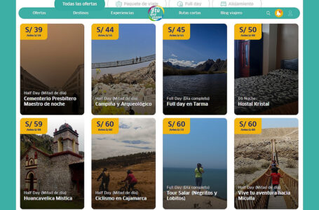 """Portal """"Y Tú Qué Planes"""" se olvida del Marketplace y vuelve a promocionar ofertas de empresas turísticas"""