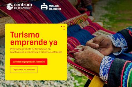 """Programa """"Turismo Emprende Ya"""" premiará a microempresarios turísticos con capital de trabajo"""
